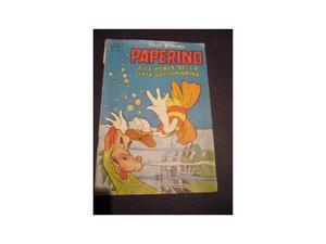 Raro e Vecchissimo fumetto collezion Walt Disney - PAPERINO
