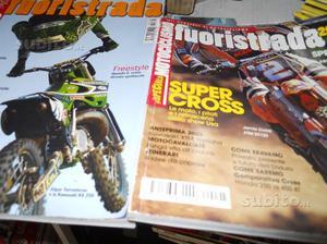 Riviste motocross-motociclismo fuoristrada-x off