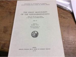 The Gilgit manuscript of the Sanghabhedavastu, parte 2