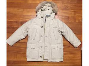 Woolrich colore beige, originale, taglia 6 anni