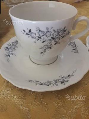 2 tazze da the in fine porcellana