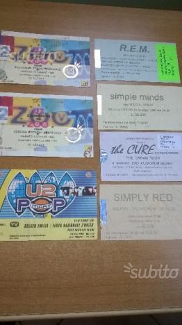 Biglietti usati da collezione