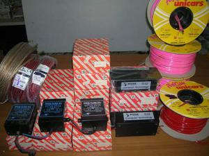 Cavi e filtri di potenza per impianti car stereo hi-fi