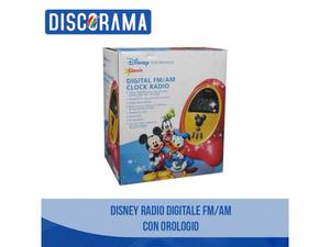 Disney Radio Digitale Fm / Am con orologio integrato