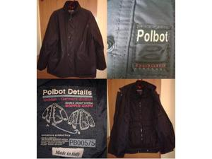 Giubbotto + giacca a vento uomo POLBOT, taglia L colore nero