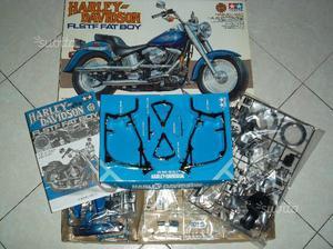 Harley Davidson flstf fat boy  modelino 1:6