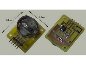 Modulo RTC con DS Real Time Clock I2C ARDUINO