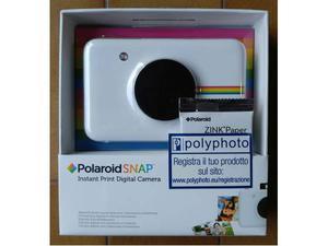 POLAROID Snap Fotocamera Digitale Stampa ZINK 10Mpx - NUOVA