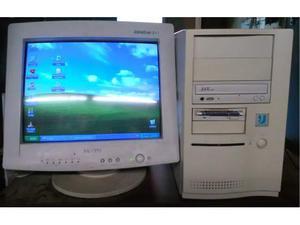 Pc computer fisso desktop windows xp tastiera intel ram