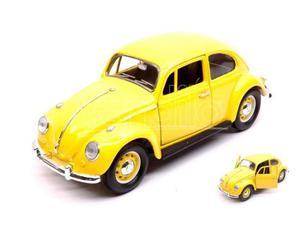 Yat Ming YMYL VW BEETLE  YELLOW 1:24 Modellino