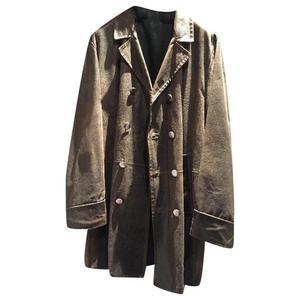 giaccone pelle vintage stile marinaio master coat