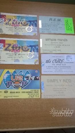 15 biglietti usati da collezione