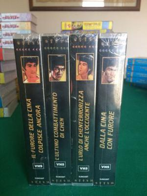 Bruce Lee film vhs nuove
