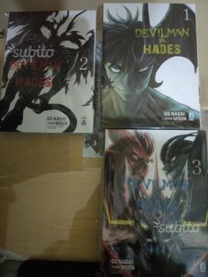Devilman Vs Hades Manga star comics completo(3/3)