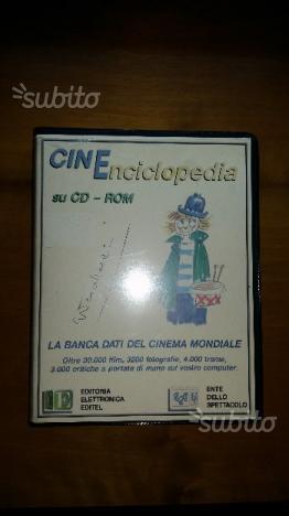 Enciclopedia del cinema su cd-rom