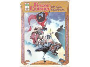 """Graphic novel """"Raven Banner"""""""