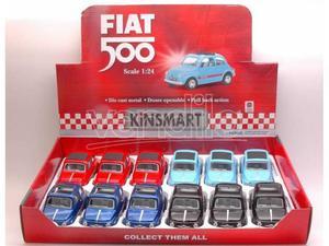 Hot Wheels KTD FIAT 500 CLASSIC 1:24 Modellino