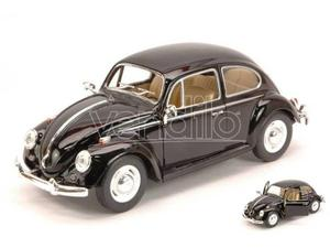 Hot Wheels KTWBK VW CLASSIC BEETLE  BLACK 1:24