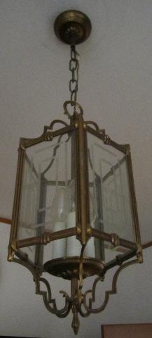 LAMPADARIO a tre luci
