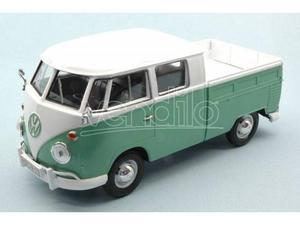 Motormax MTMTQ VW TYPE 2 (T1) PICK UP WHITE/GREEN 2