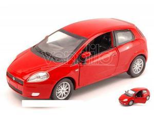 New Ray NYR FIAT GRANDE PUNTO  RED 1:24 Modellino