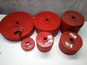 Pesi da palestra 60 kg diametro 2,8