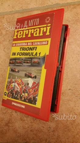 """Raccolta VHS """"IL MITO FERRARI"""""""