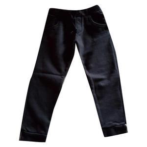 pantaloni in felpa neri burberry