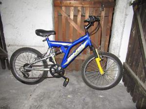 Bicicletta Mountain Bike bi ammortizzata ruota 20