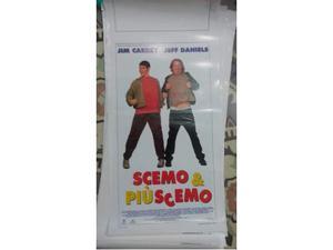 """Locandina originale film """"Scemo più Scemo """""""