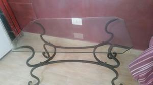 Tavolini In Vetro E Ferro Battuto : Tavolino in ferro e vetro posot class