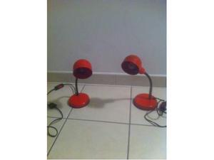 Coppia di lampade da tavolo veneta lumi