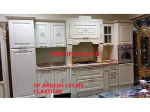 Cucina classica imperial oro foglia 3p arredo