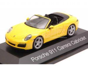 Herpa HP PORSCHE 911 CARRERA CABRIOLET  YELLOW 1:43