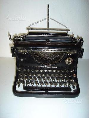 Macchina da scrivere da tavolo ideal anno