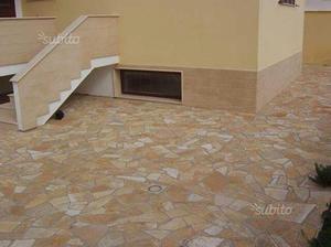 Pietra albanese tipo opus per pavimenti e rivestim