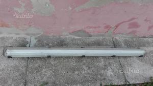 Plafoniera Neon 2x58w Disano : Plafoniere marca disano mod u dtop luciu d alluminio colore nero