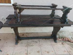 Tavolo legno da esterno giardino posot class for Tavolo in legno per esterno
