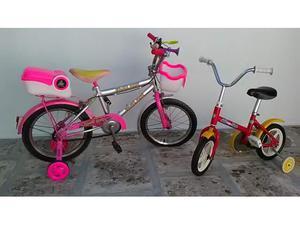 2 bici per bimba