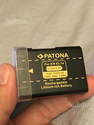 Batteria originale Pantona EN - EL 14 ENEL14 Nikon