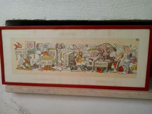 Disegno originale di Jacovitti