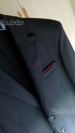 giacca nera da uomo della SORBINO