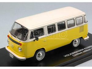 Triple 9 T VW T2 BUS KOMBI  YELLOW/WHITE 1:43