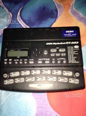 zoom rhythmtrak rt 123 manual