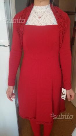 Elegante vestito rosso a soli 20 euro