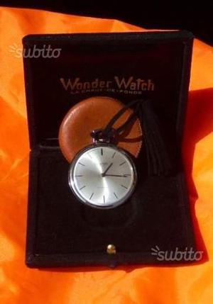 Orologio da tasca Wonder Watch oro Bianco 18kt