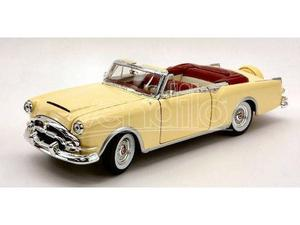 Welly WE PACKARD CARIBBEAN CABRIO  YELLOW CREAM 1:24