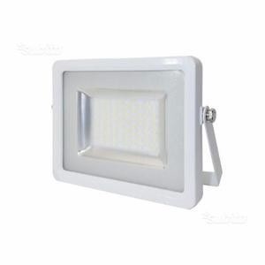 Faro 50 watt bordo bianco a led smd