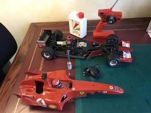 Ferrari F a scoppio radiocomandata