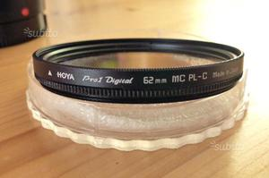 Filtro polarizzatore HOYA 62mm